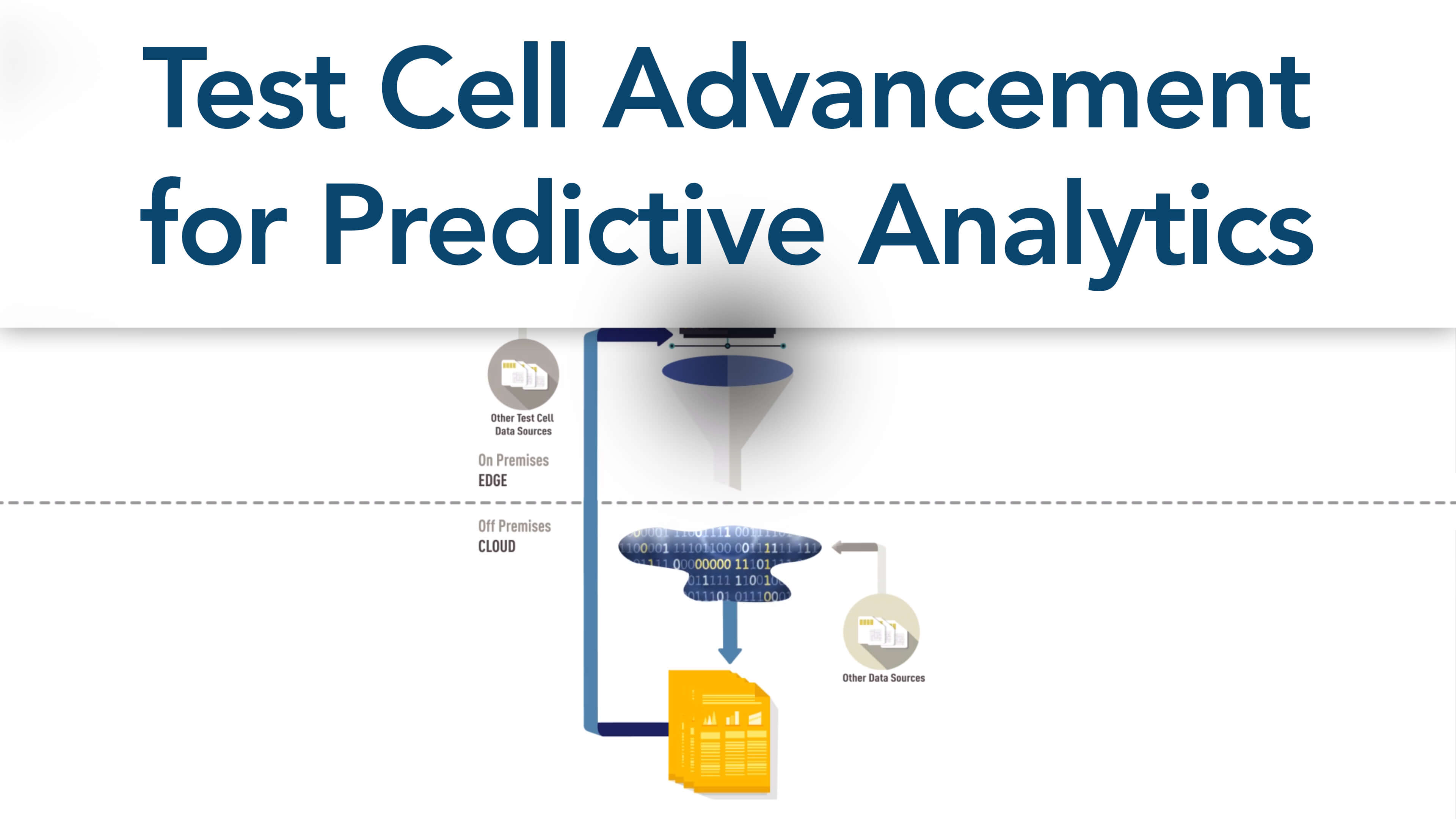 Test Cell Advancement for Predictive Analytics